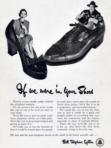 1951 Bell Telephone System 'Shoes'