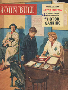 1954 October John Bull Vet's Reception