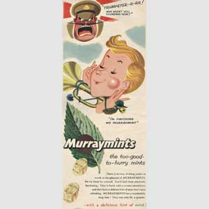 1954 Murraymints trumpeteer
