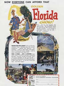 1953 State of Florida - vintage ad
