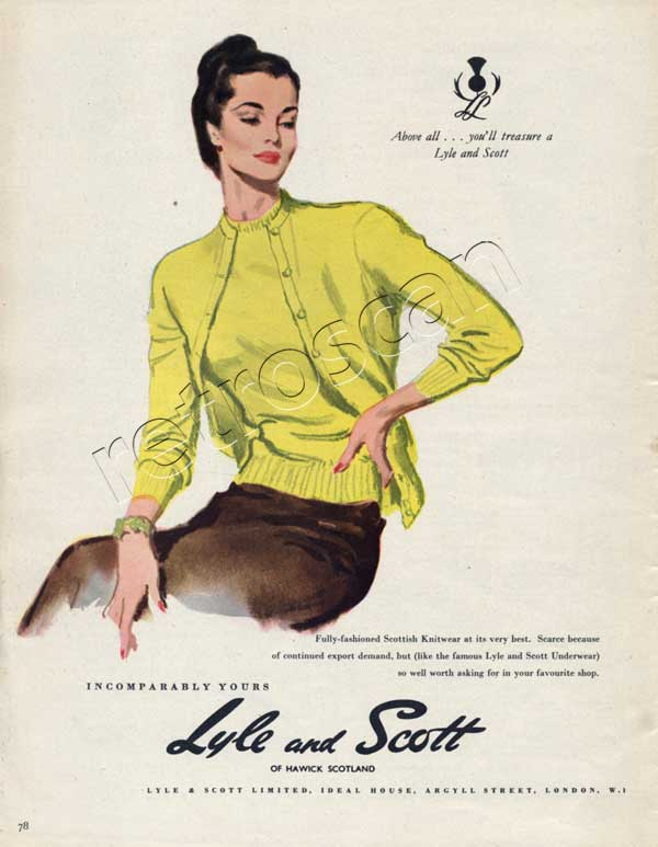 1953 Lyle and Scott