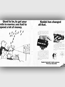 1969 Kodak Instamatic Advert