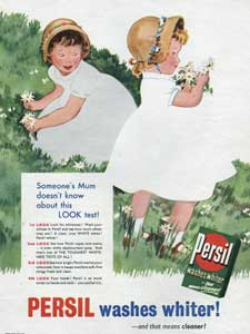 1955 Persil Washing Powder- Girls