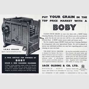 1952 Boby Grain Cleaning