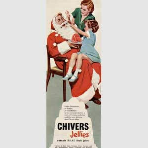 1954 Chivers Jellies - vintage ad