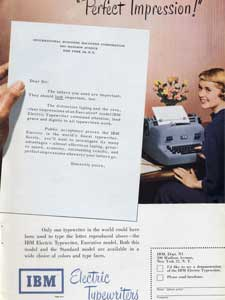 1950 IBM advert