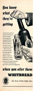 1954 Whitbread Light Ales