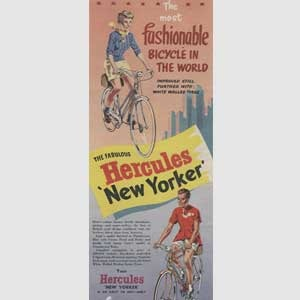 1955 Hercules Bicycles