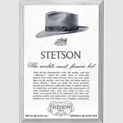 1950 Stetson Hats- vintage ad