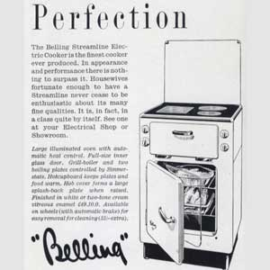 1953 Belling Cookers