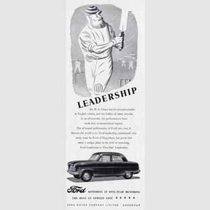 1952 Ford Leadership Grace - vintage