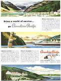1949 ​Canadian Pacific - vintage ad
