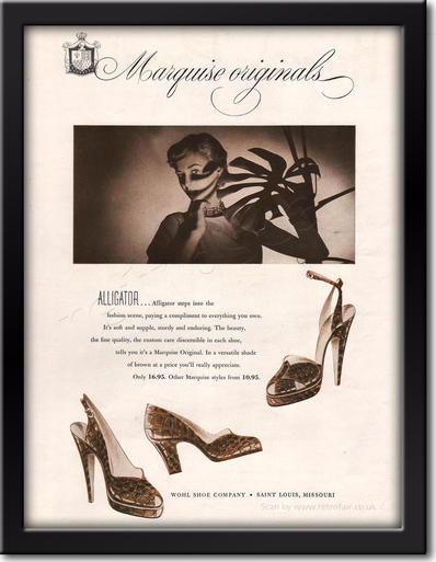 1949 Marquise Originals framed preview