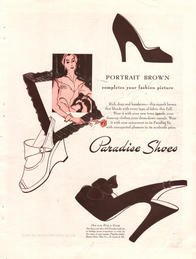 1949 Paradise Shoes unframed preview