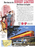 1951 ​Southern Pacific  - vintage ad
