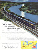 1953 New York Central - vintage ad