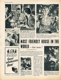 1955 Brewer's Society - unframed vintage ad