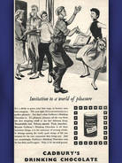 1955 Cadbury's Drinking Chocolate Party