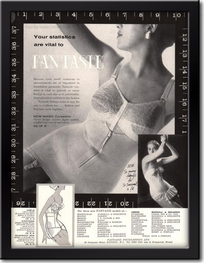 1958 Fantasie Foundations framed preview