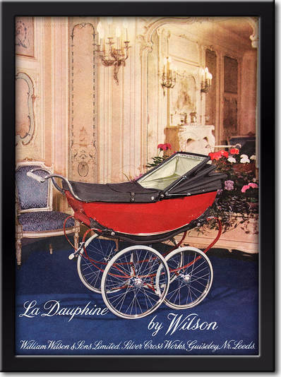 1958 Wilson Prams - framed preview retro