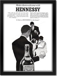 1961 Hennessy Cognac - framed preview retro