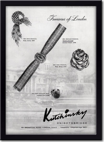1961 Kutchinsky framed preview retro