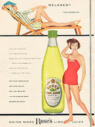 1958 Rose's Lime Juice