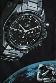 1969 Omega Watches unframed preview
