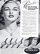 1949 Hamilton Watches Vintage Ad