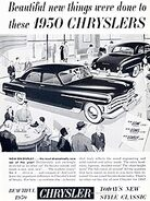 1950 Chrysler (New range)