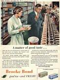 1954 Brooke Bond Story Of Tea 8  - vintage