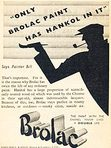 1936 Brolac Paints - vintage ad