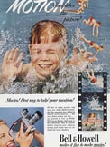 1952 Bell & Howell Movies  - vintage ad