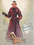 1951 Heatona Fashion Ad