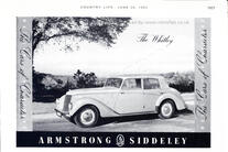 1952 Armstrong Siddely - Whitley Hurricane