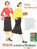 1954 Persil Washing Powder - Woolens  - vintage