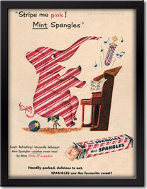 1952 Mint Spangles - framed preview