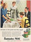 1955 ​Batchelor's Peas - vintage ad