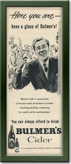 1955 Bulmer's Cider - framed preview