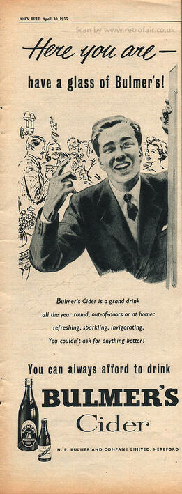 1955 Bulmer's Cider - unframed preview