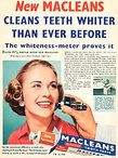 1955 Macleans Toothpaste