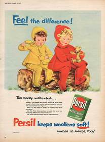 1955 vintage Persil Washing Powder Children