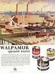 1958 Walpamur paints - vintage ad