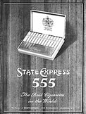 1959 ​State Express 555 - vintage ad