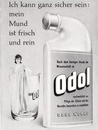 1960 Odol Mouth Wash retro advert