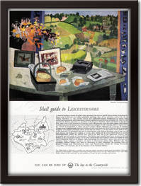 1961 Shell Guide To Leicestershire - framed preview vintage ad