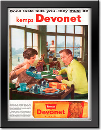 retro 1958 Kemp's Devonet Biscuits