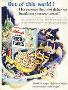 1954 Kellogs Frosted Flakes