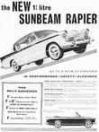 1958 Sunbeam Rapier
