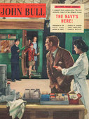 1955 October John Bull Vintage Magazine buying chocolate on railway platform